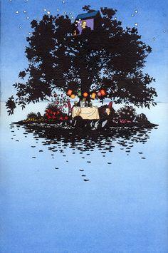 Oh, by the way...: BEAUTY: Illustration--Yan Nascimbene