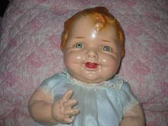 """Vintage Composition Baby Doll 20 """" Unmarked"""