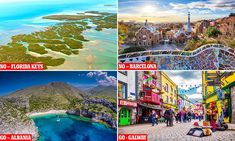 Fodor's releases 2020 GO and NO lists, with Florida Keys not recommended and Albania green-lighted Travel News, Travel List, Travel New Mexico, Elephant Ride, Komodo Island, Mexico Resorts, Wadi Rum, Luang Prabang, Easter Island