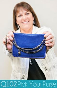 Stella McCartney - Crossbody Bluebird Blue Mini. Go to wkrq.com to find out how to play Q102's Pick Your Purse!