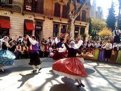 ¡Preciosa foto del ball de bot en Mallorca! :)