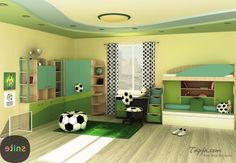 77+ Football Bedroom Decorations - Interior Paint Color Trends Check more at http://www.soarority.com/football-bedroom-decorations/