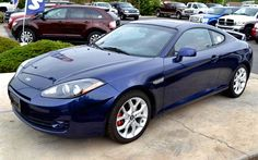 Hyundai Tiburon 2007. The Tiburon was one of the vehicles that helped Hyundai to change its image and become what it is today.