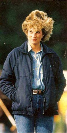 Princess Diana…….A VERY WINDY DAY AND SHE STILL LOOKS LIKE THE ADORABLE PRINCESS DIANA………………ccp