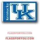 Kentucky Wildcats 3x5 Single Sided Flag - 2 left