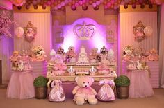 Sweets Delight – Party Planner, Sweet Corner, and Goodie Bags for your party Royal Princess Birthday, Baby Shower Princess, Princess Party, 1st Birthday Girls, 1st Birthday Parties, Birthday Party Decorations, Baby Party, Baby Shower Parties, Baby Shower Themes
