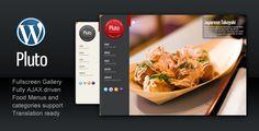 Wordpress themes for food