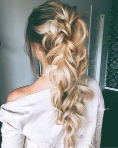 Los #peinados con #trenzas más lindos y sencillos de hacer. #PeinadosConTrenzas #Cabello #Hairstyle #PasoaPaso