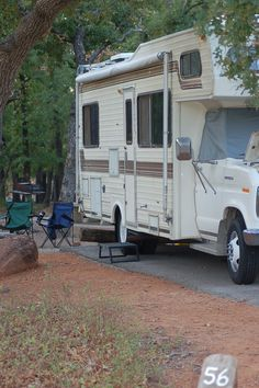 Our RV, camping.