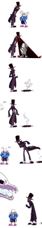 Sans meets Black Hat by paurachan.deviantart.com on @DeviantArt