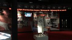 Muhammad Ali exhibition at the o2! Dynamo LED Displays installed this p6 LED Ticker using flexible LED modules.