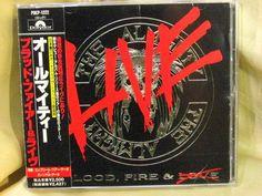 CD/Japan- ALMIGHTY, THE Blood Fire & LIVE +3 bonus trx w/OBI RARE POCP-1222 #MelodicHardRockHardRocknRoll
