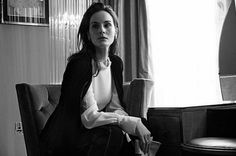 'The Lady Returns' by Billie Scheepers for Claridges Magazine, S/S 2018 Michelle Dockery, Actresses, Black And White, Lady, Magazine, Models, Film, Fashion, Female Actresses
