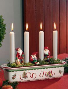 Adventsljusstake God Jul