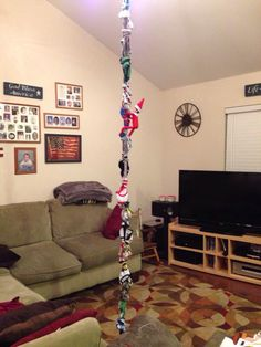 Elf on the Shelf-Underwear Rope