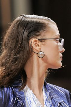 PFW Kenzo. RTW S/S 2014 Collection. Detail Glasses Look 14