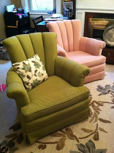 This blog just helped me decide if I was going to paint my wingbacks or reupholster. Painting wins!