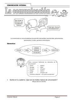Comunicación integral 3er Grado