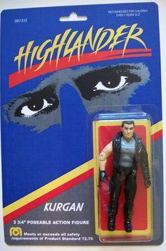 Highlander figure - Kurgan - Popsfartberger