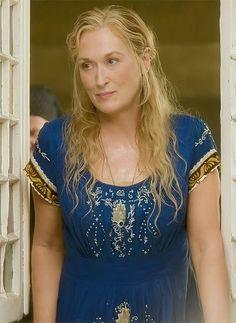 How Streep's gushing fan letter won her dream role in new film - Meryl Streep in Mamma mia Source by bluegintonic - Meryl Streep Quotes, Meryl Streep Movies, Mamma Mia, Grace Gummer, Les Sentiments, Foto Art, Estilo Boho, Film Serie, Tamar Braxton
