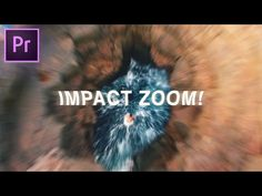 IMPACT ZOOM Bump Effect | Adobe Premiere Pro CC 2017 Tutorial (How to) - YouTube