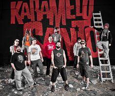 Karamelo Santo, es una banda argentina de rock al estilo fusión, pionera en la mezcla de otros estilos como punk, folclore, cumbia, ska y reggae en Latinoamérica, formada oficialmente en 1993 en la ciudad de Mendoza, liderada y fundada por Goy Karamelo a pesar de que los primeros trabajos de ideas y ensayos se plasmaron con una agrupación previa llamada Perfectos Idiotas desde 1987 con influencias. Karamelo Santo es la primera banda en el mundo que presenta la cumbia como ritmo rockero