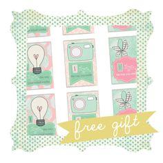 Free Printable Valentines: Loveables