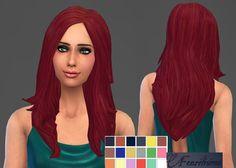 Fenrilsims: Shanara hairstyle  - Sims 4 Hairs - http://sims4hairs.com/fenrilsims-shanara-hairstyle/