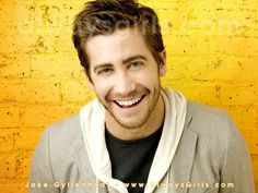 Jake Gyllenhaal--He's just a hot cutie. Those eyes, that stubble...lovely.