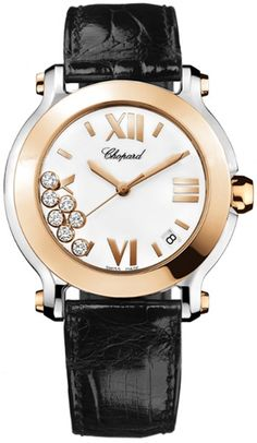 ece0ab66bee  Chopard  HappySport II 36mm 18k Rose Gold 278492-9001 at less price at ·  Pre Owned WatchesWomen s ...