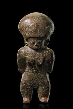 Warrior figure - Ecuador, Chorrera ca. 500 B.C.