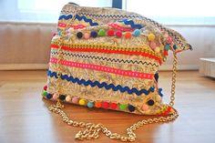 DIY Boho Festival Bag Finished