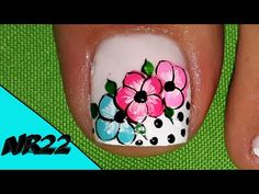 Manicure And Pedicure, Pedicures, Lily, Nail Art, Tattoos, Youtube, Color, Stickers, Toenails Painted