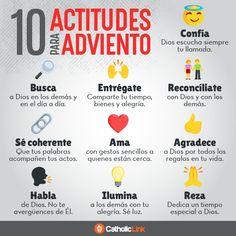 Infografía: 10 actitudes para vivir el Adviento