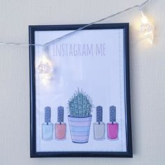 And so I did... Love this print from @gwennanreesillustration #etsy shop! #instagramme