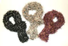 Morbidissime sciarpe ad uncinetto