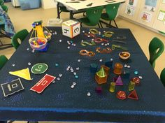 Numeracy exploration table