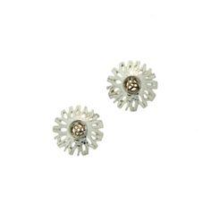 Celtic Heather Silver Earrings