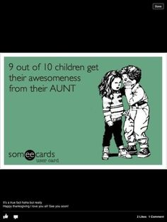 Loving being an Aunt!