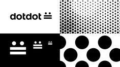 dotdot :   - Identity Design - Logo, Logotype, Dots, Dot, Black & White, Typographic, Bold, Minimal