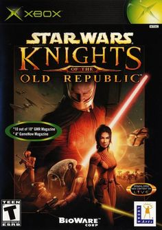 Star Wars: Knights of the Old Republic (Microsoft Xbox, 2003) Complete