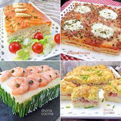 Aquí tienes muchas ideas para lucirte haciendo pasteles fáciles con pan de molde y muchos rellenos diferentes.