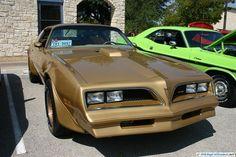 Pontiac Firebird Trans AM. As seen at the September 2011 Cars and Coffee Austin TX.