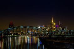 Frankfurt at Night by Jeannette Rudloff / 500px
