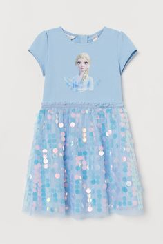 Set of Two Disney/'s Outfit BoysGirls Personalized Birthday Frozen Sisters Turquoise Skirt White Polka Dot and TShirtOnesie Siblings Set