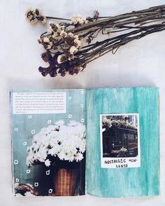 art journal // craft, journaling, Noor Unnahar journal, tumblr aesthetics, scrapbooking, diy, flaylay //