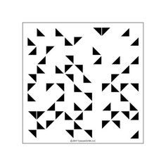 Concord & 9th - TRIANGLE TURNABOUT BACKGROUND Stamp - Turn About – Hallmark Scrapbook