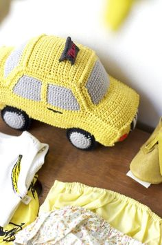 Yellow cab by Anne Claire Petit