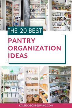 Determined to get your pantry organized? These brilliant pantry organization ideas will show you how to organize a pantry like a pro, no matter the size or shape! Healthy Kids Snacks For School, Easy Snacks For Kids, Healthy Toddler Meals, Pantry Shelving, Pantry Storage, Small Pantry Organization, Organization Ideas, Alcohol Storage, White Pantry