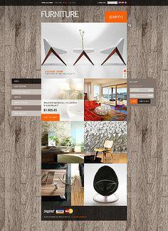 Interior & Furniture - Type prestashop-themes - Template # 39005 - Espresso Templates - Regular price: $140  #prestashop #template